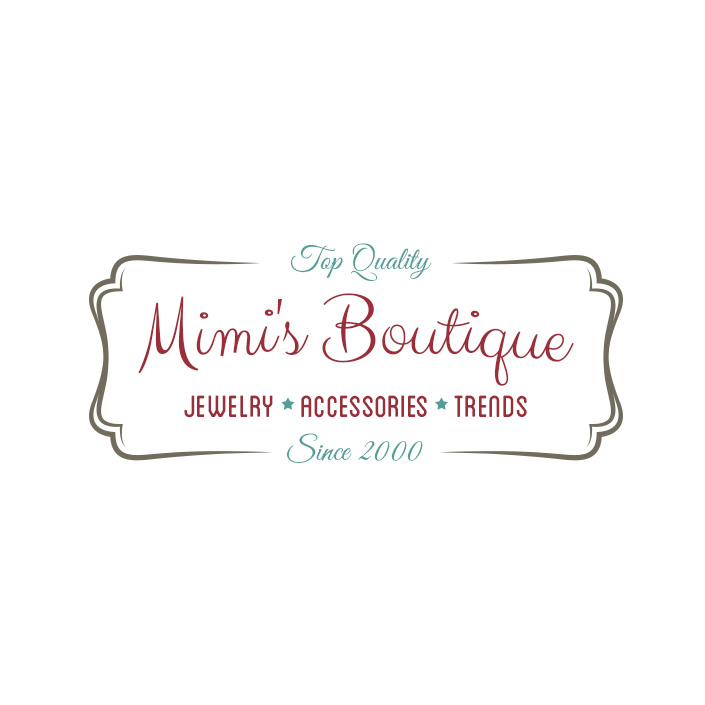mimis boutique logo design acworth